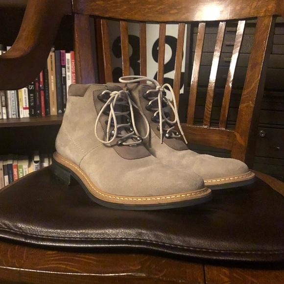 9c45399dfb0 Wolverine 1000 Mile Boots 9.5D Suede